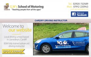 Cardiff Driving Instructor Banner